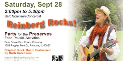 Reinberg Rocks! - Concert by Barb Sorensen Sept. 28th, 2019