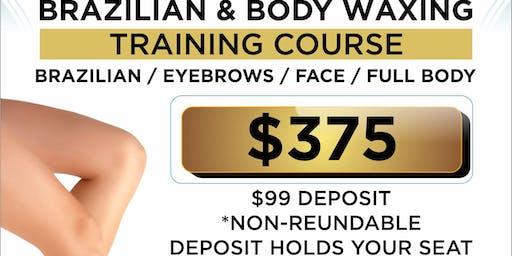 Brazilian and Body Wax Training