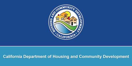 HCD 2018-19 Annual Action Plan Substantial Amendment Public Hearing tickets