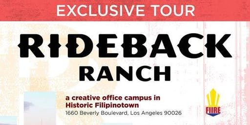 Exclusive Tour of Rideback Ranch