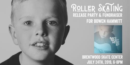 Roller Skating Release Party & Fundraiser for Bowen Hammitt