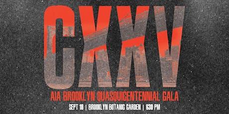 CXXV | AIA Brooklyn Quasquicentennial Gala tickets