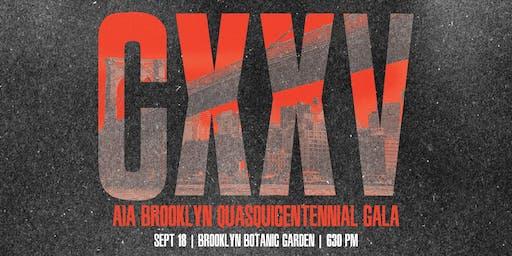 CXXV | AIA Brooklyn Quasquicentennial Gala