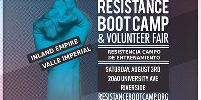 Resistance Boot Camp & Volunteer Fair - Inland Empire