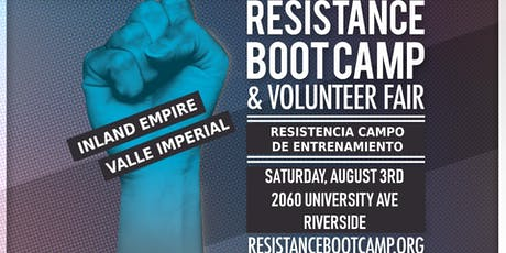 Resistance Boot Camp & Volunteer Fair - Inland Empire tickets