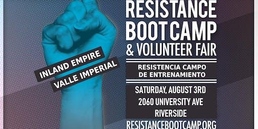 Resistance Boot Camp & Volunteer Fair - Inland Empire