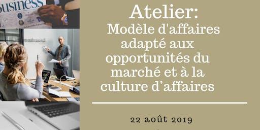 Atelier: Modèle d'affaires adapté aux opportunités du marché