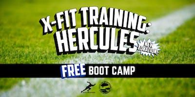 X-Fit Training Hercules: FREE Boot Camp