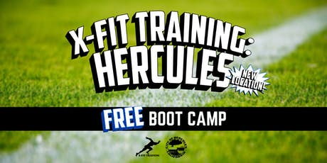 X-Fit Training Hercules: FREE Boot Camp tickets