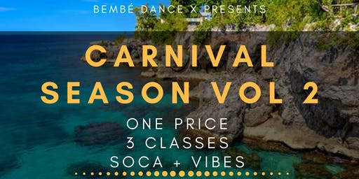 Carnival Season Volume 2: Power Soca Dance Class (3 Part Series)