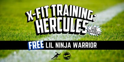 X-Fit Training Hercules: FREE Lil Ninja Warrior Class