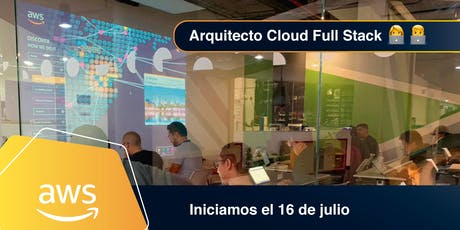 Full Stack Cloud Architect en AWS Online entradas