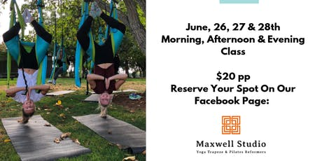 Yoga Trapeze from Trees!  Pop-Up Classes tickets