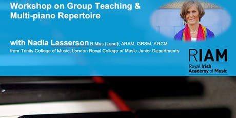 Workshop on Group Teaching & Multi-piano Repertoire tickets