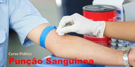 Curso Prático de Punção Sanguínea