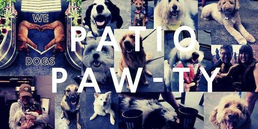Patio Paw-ty