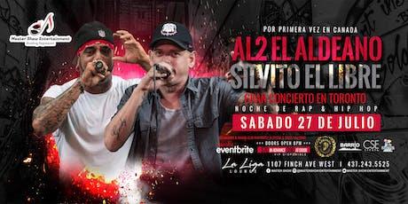 """Al2 """"El Aldeano"""" y Silvito """"El Libre"""" En Vivo tickets"""