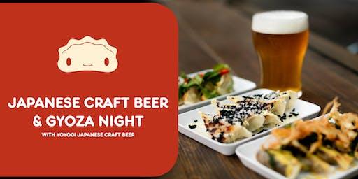 Japanese Craft Beer and Gyoza Night!