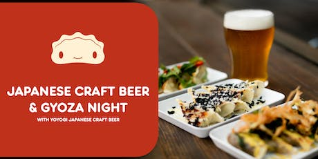 Japanese Craft Beer and Gyoza Night! tickets