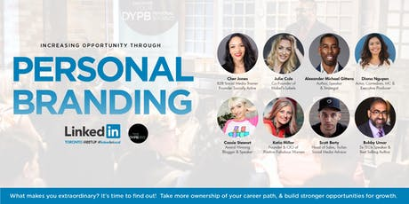 Toronto Linkedin Local Meetup - Increasing Opportunity Through Personal Branding tickets