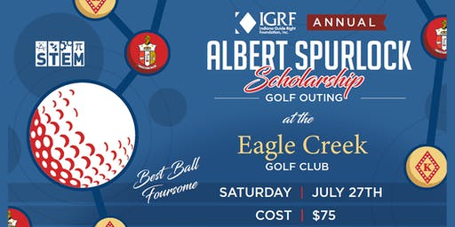 9th Annual Indiana Guide Right Foundation Albert Spurlock Golf Fundraiser