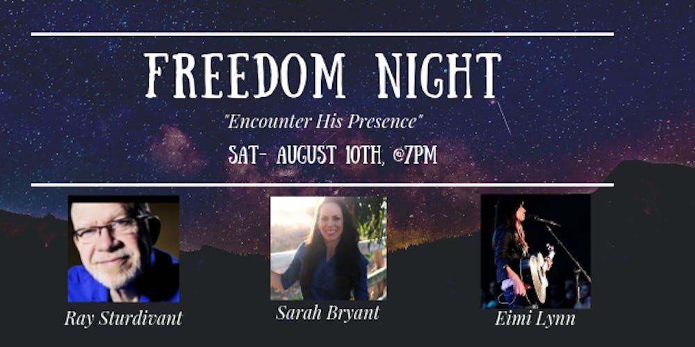 Freedom Night Tickets, Sat, Aug 10, 2019 at 7:00 PM   Eventbrite