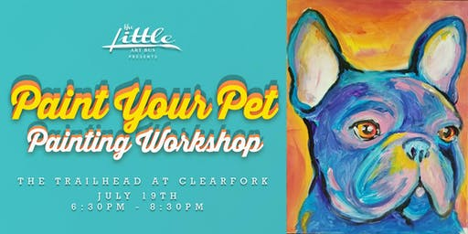 Paint Your Pet at the Trailhead