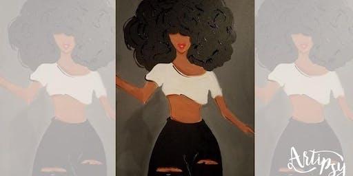 Artipsy Twerk + Paint with DJ Rob Real