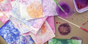 Printing with Bubbles! A Craftlab Family Workshop