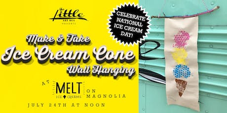 National Ice Cream Day Make and Take at Melt tickets