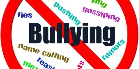 """Bully Proofing and Understanding Bullying with Children and Teens"" tickets"