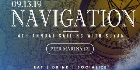4th Annual Sailing With Suyan tickets
