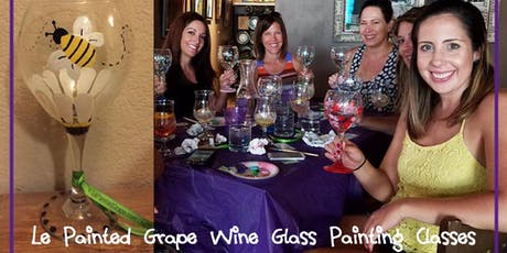 Wine Glass Painting Class @ Odd13 Brewing 7/24 @ 6pm tickets