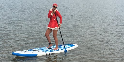 X-mas in July SOCIAL Paddle | Paddleboarders & Kayakers