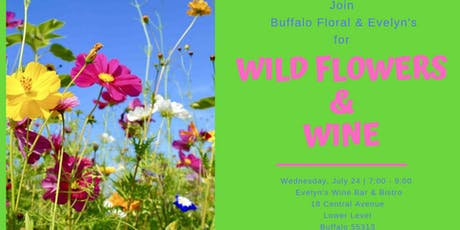 Wildflowers & Wine tickets