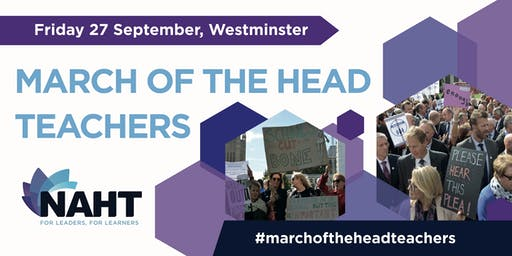 March of the Head Teachers - a rally and march for school funding