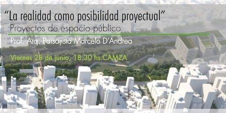 Charla Abierta de Paisajismo - Arq Marcelo D'Andrea entradas