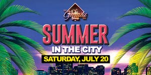 Summer in the City @ The Greatest Bar