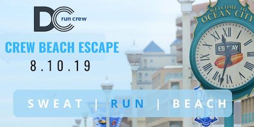 Crew Beach Escape with DC Run Crew