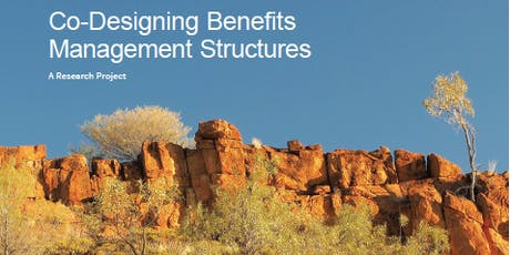 Co-Designing Benefits Management Structures tickets