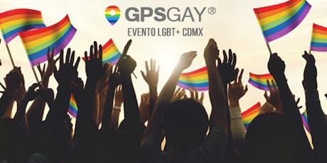 Evento GPSGAY: Foro LGBT+ en CDMX entradas
