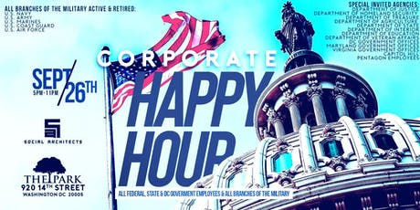 CORPORATE HAPPY HOUR - GOVERNMENT & MILITARY tickets