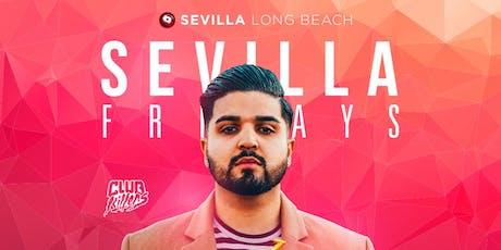 Direct from VEGAS DJ EXILE in da house at SEVILLA LONGBEACH tickets