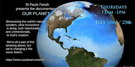 VIDEO SERIES PRESENTATION: 'OUR PLANET'  tickets