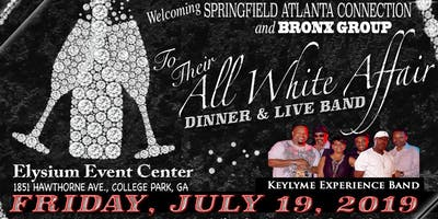 THE ULTIMATE PRODUCTIONS  Presents ALL WHITE Affair