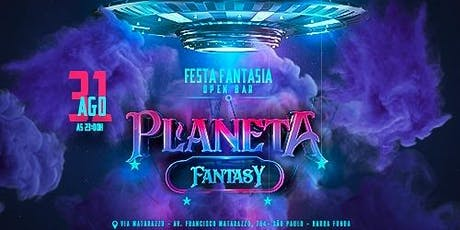 Planeta Fantasy - Festa à fantasia Open Bar ingressos