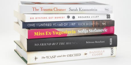 The National Biography Award Shortlist panel and award announcement tickets