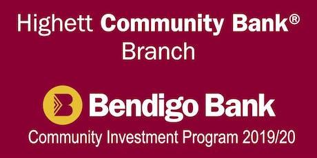 Community Investment Program Information Night 2019/20 tickets