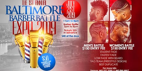 The Workshops - Baltimore Barber Battle Expo tickets