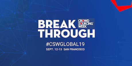 Crowdsourcing Week Global Conference 2019 tickets